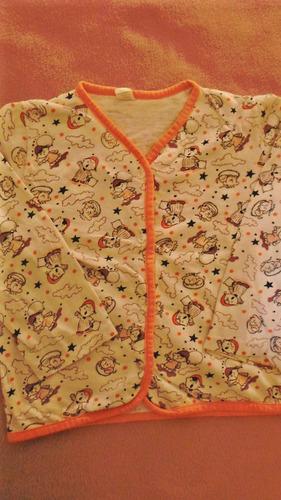 lote 3 remeras algodon manga larga niño talle 4 $190