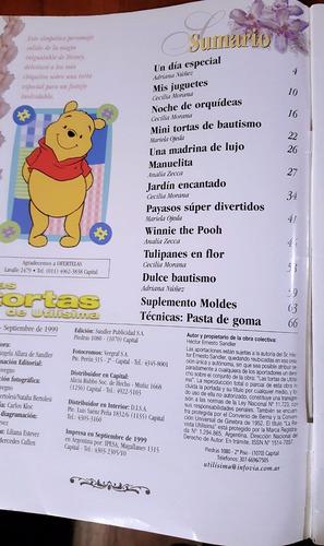 lote 3 revistas las tortas de utilísima