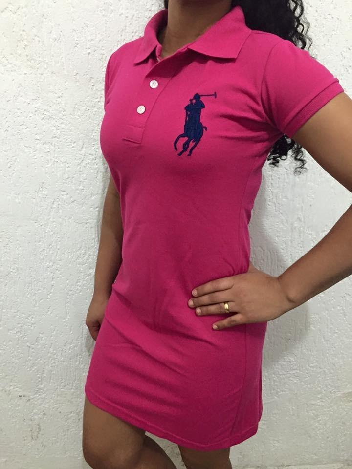 e5fd009940 Lote 3 Vestido Polo Preço De Atacado Frete Grátis - R  135