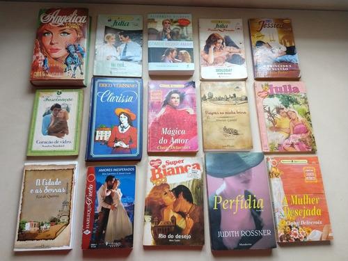 lote 30 livros de romance sabrina harlequin julia diversos