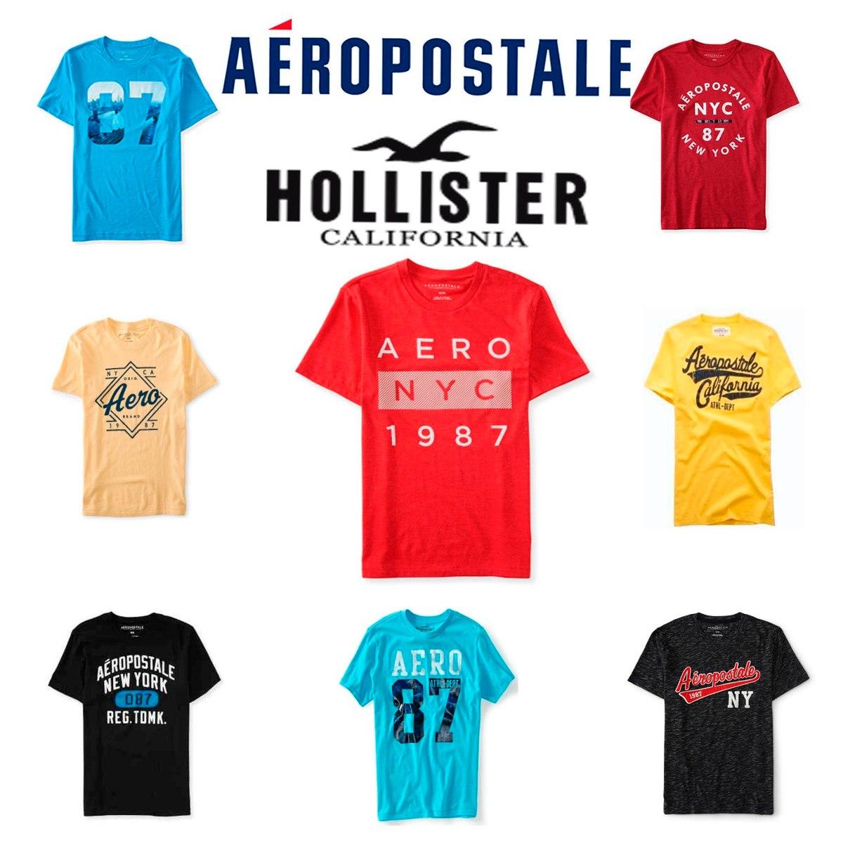 lote 30 playeras aeropostale american hollister hombre 2018. Cargando zoom. 339d2bc95f217