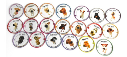 lote 30 tazos the dog pepsico 2005 artlist collection