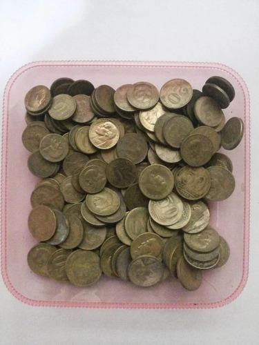 lote 300 moedas de 20 e 10 centavos para fazer aliança