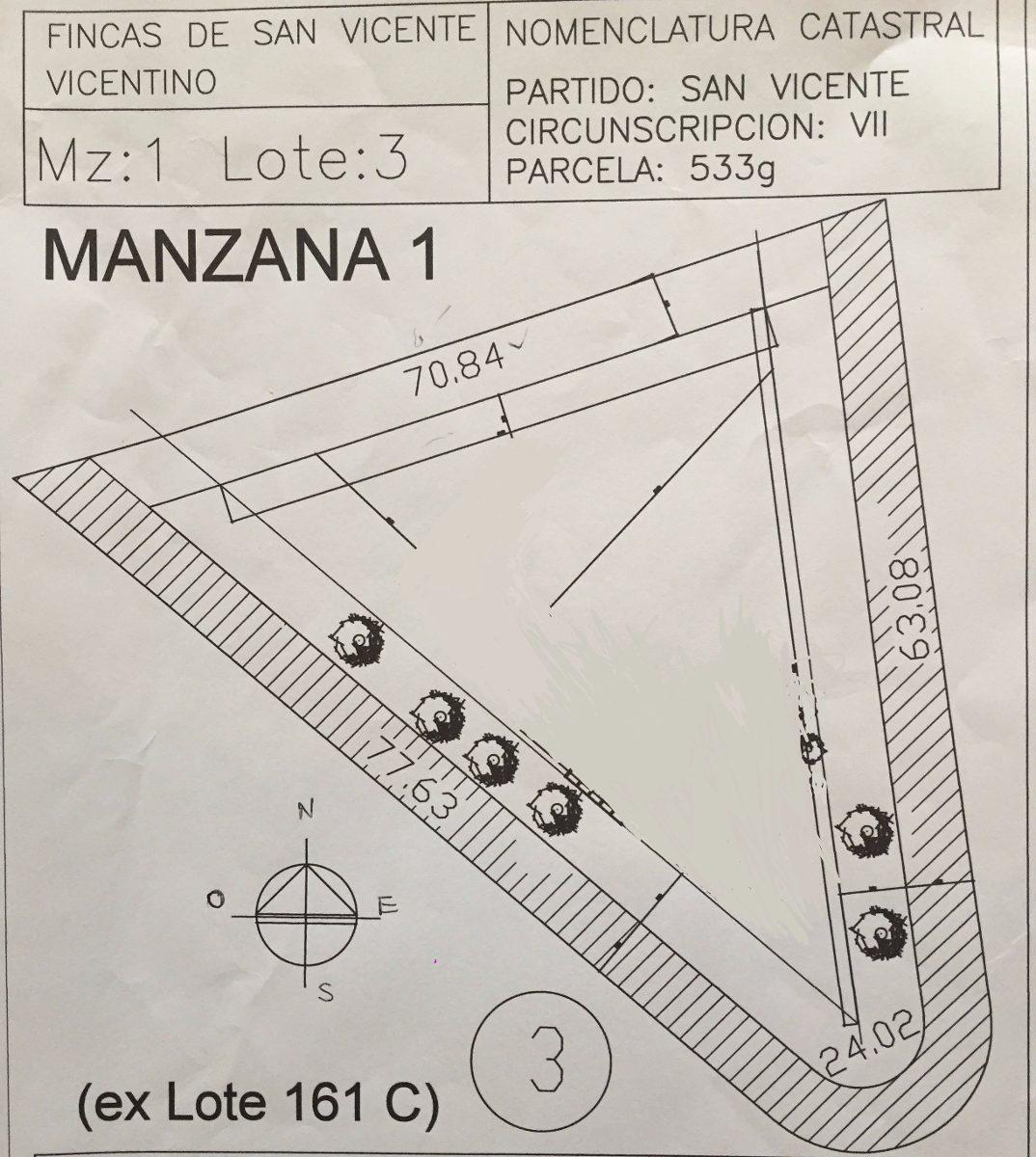lote 3000 m2 excelente oportunidad (listo para construir)