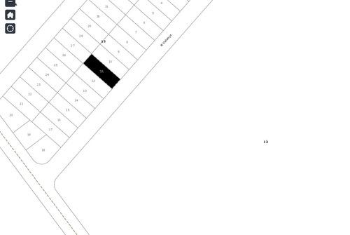 lote 300,00m² (asfalto e agua) residencial campos dourados