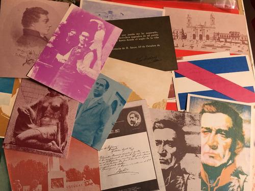 lote 32 tarjetas historicas mec, fotos c23