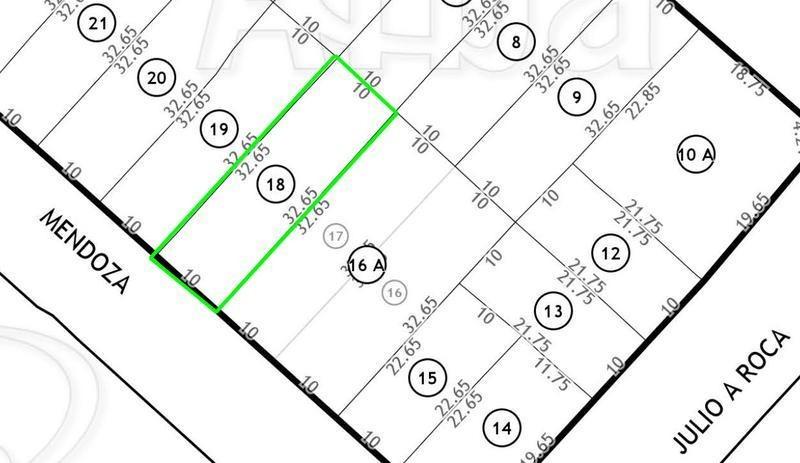 lote 326 metros / venta / ideal constructor / san miguel