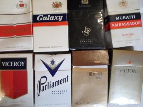 lote 35 cajas de cigarrillos importados