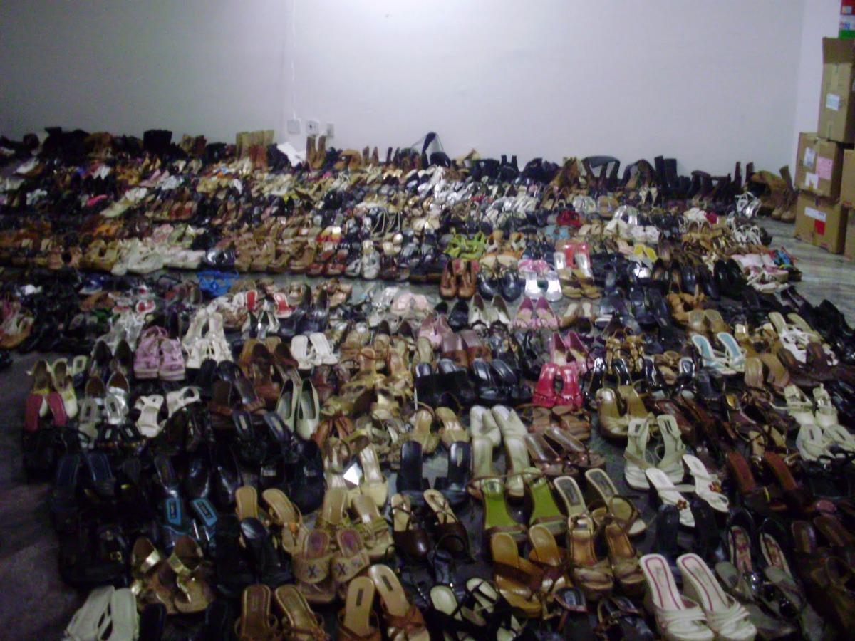 450bf69cb30 Lote 35 Calçados Femininos Sapatos Etc Usado Atacado Brecho - R  349 ...