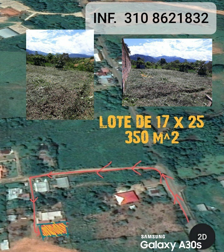 lote 350 m^2 (17 x 25)