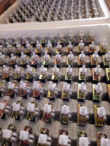 lote 3500 botões liga/desliga kdc-a03 2a/8a250v sw-2