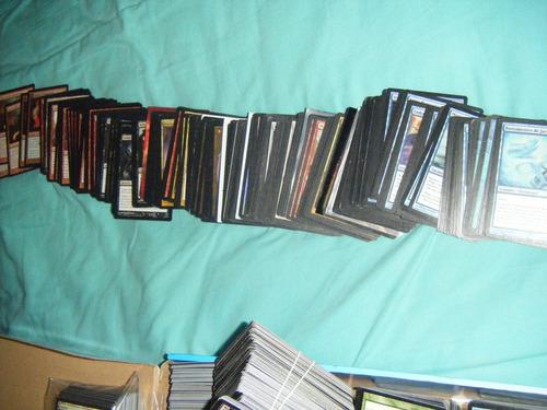 lote 3500 cartas magic muchas ediciones. 50 raras a eleccion