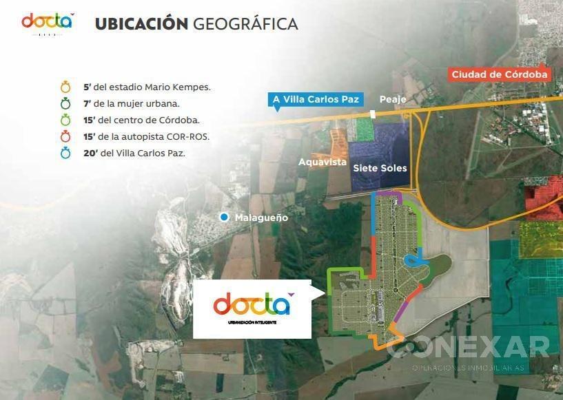 lote 360m2 apto duplex - docta ciudad inteligente.