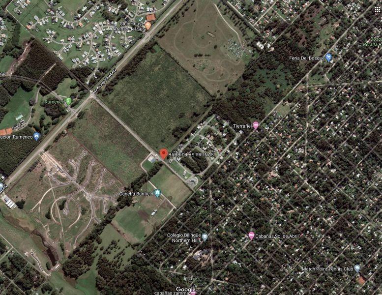 lote 37- las prunas - sup: 674 mts