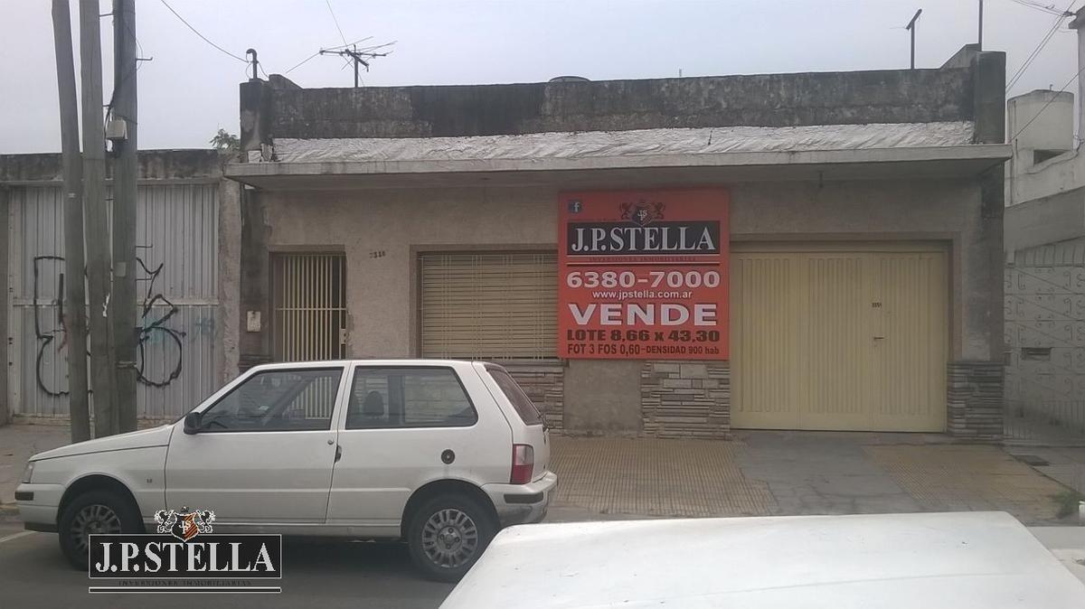 lote 375 m² - ideal emprendimiento inmobiliario - s.justo (ctro)
