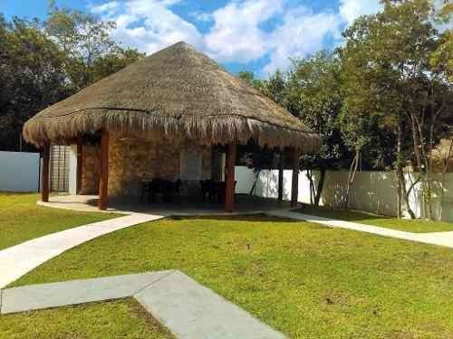 lote 380 m2 en venta en residencial encuentro playa del carmen    p2960
