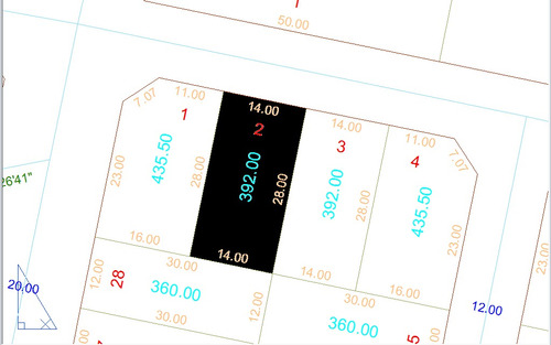 lote 392,00m² (asfalto) setor aeroporto sul