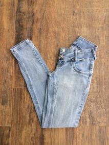 5c8c17e43 Calca Jeans Branca Tam 34 - Calçados, Roupas e Bolsas no Mercado Livre  Brasil