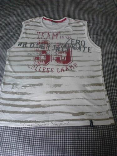 lote 4 camisetas regatas por 1 preço ! tam 16