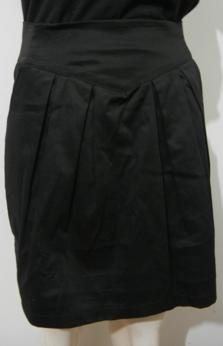 Lote 4 Faldas Con Pliegues Y Bolsillos Laterales -   500 a82a1f442df2