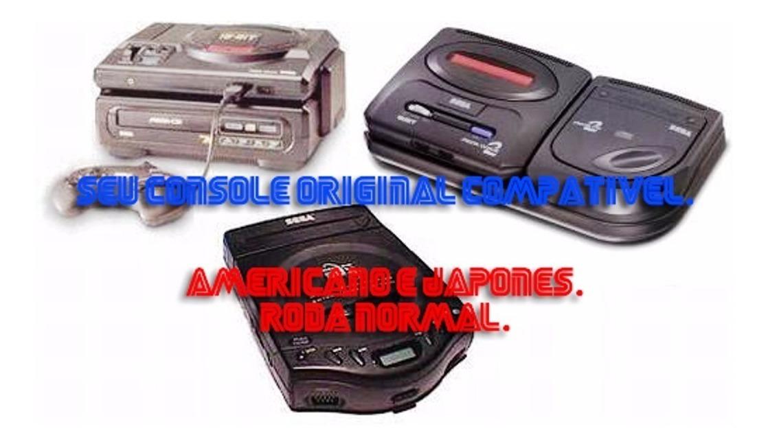 Lote 4 Jogos De Sega Cd Cdr A Escolha
