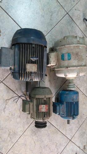 lote 4 motores weg 2,5 3 6 7,5 cv