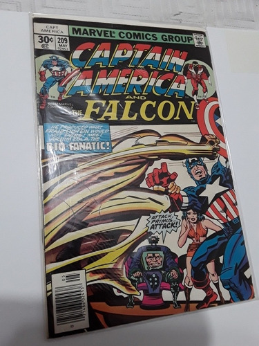 lote 4 números captain america & the falcon inglés marvel