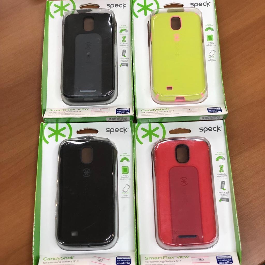 brand new a2f20 4ed6a Lote 4 Peças Da Capa Case Capinha Galaxy S4 Speck