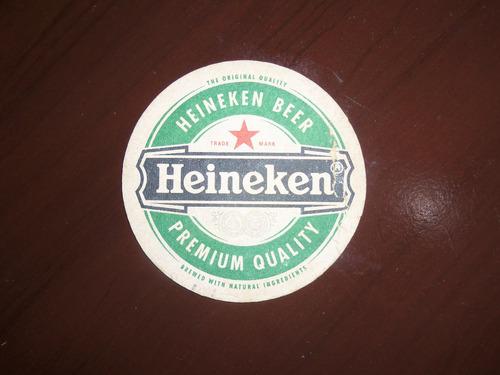 lote 4 posavasos cerveza heineken norteña enrique viii
