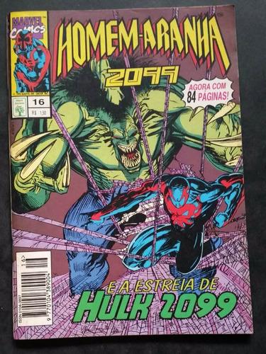 lote 4 revistas hq gibi marvel-homem aranha 2099/13,14,15,17