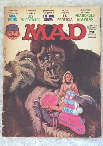 lote 4 revistas mad incluye nº 1 edic españa