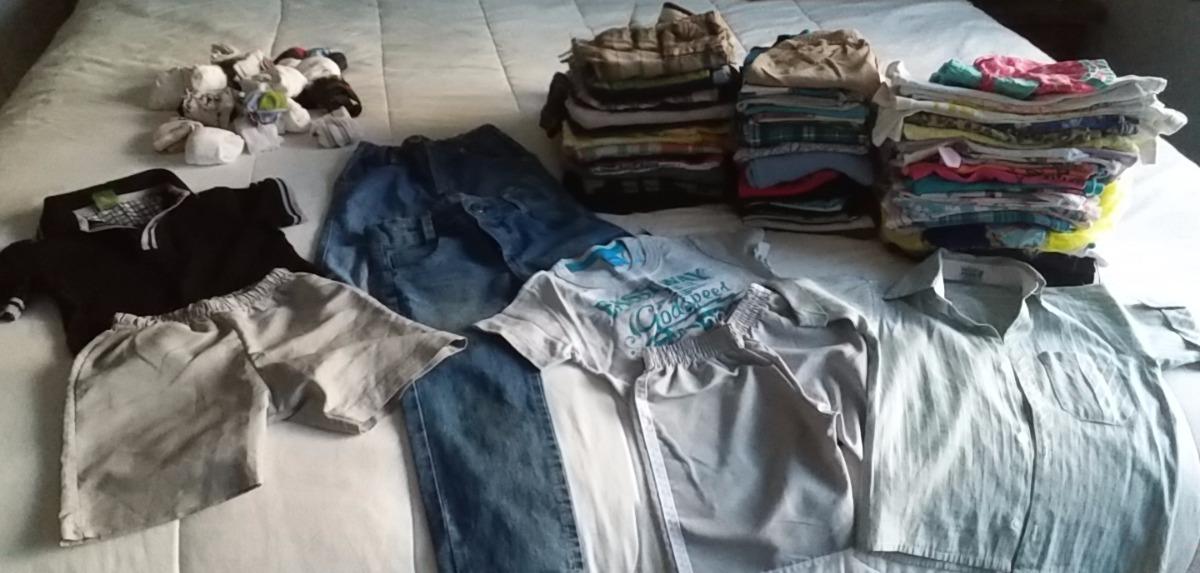 b665207bc6 lote 40 pecas roupas menino menina usada brecho ou pessoal. Carregando zoom.