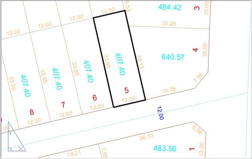 lote 407,40m² (asfalto) jardim buriti sereno