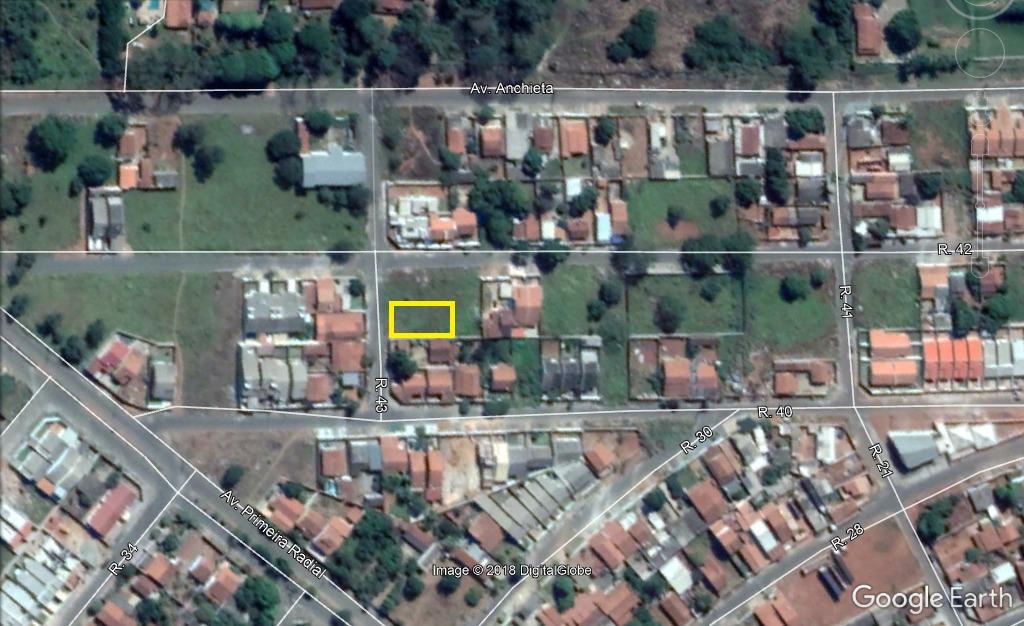 lote 420,00m² (asfalto e agua) bairro cardoso