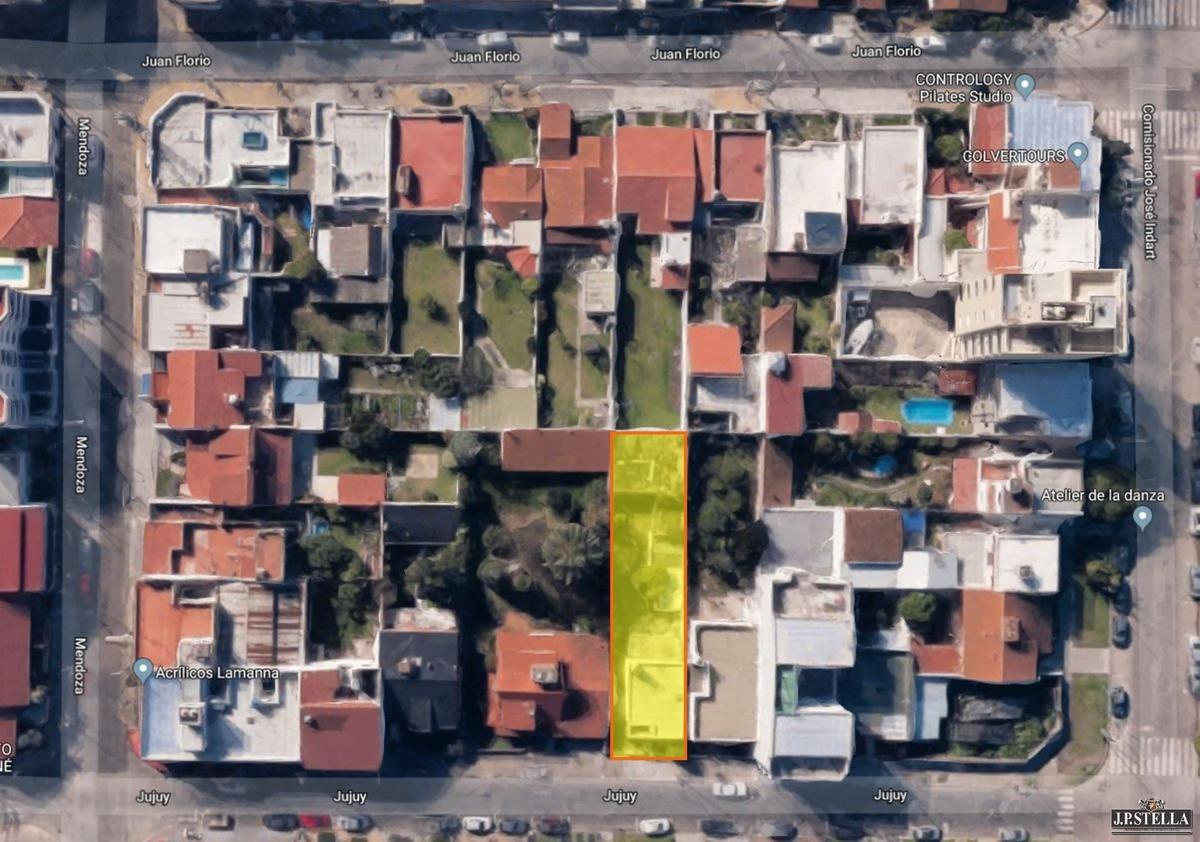 lote 435 m² - ideal construcción dptos. y/u oficinas- s.justo (ctro)