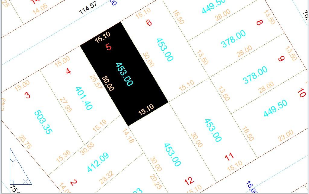 lote 453,00m² - setor rosa dos ventos
