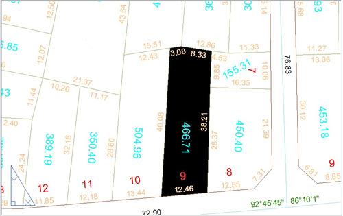 lote 466,71m² (asfalto, agua e esgoto) cidade livre
