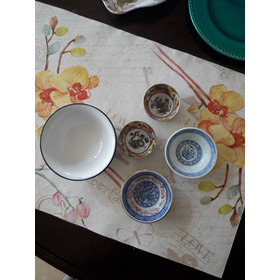 Lote 5 Bowls Porcelana China