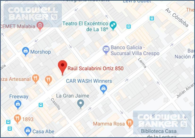 lote 5 frentes apto para 7847m2 vendibles sobre av. s. ortiz - villa crespo