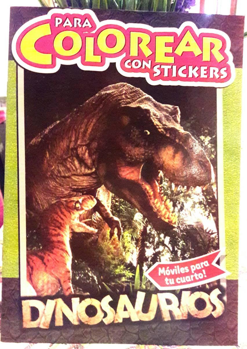 Vistoso Libros De Colorear De Dinosaurios Ilustración - Ideas Para ...