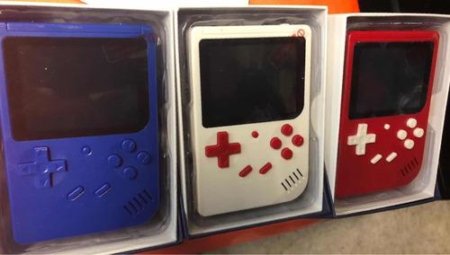 lote 5 mini consolas portatil 300 juegos incluidos conexion
