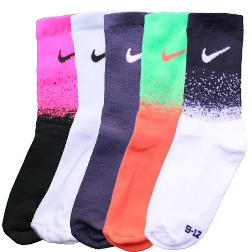 lote 5 paquete 3x1 calcetines nike para niño mayoreo 15 pzs