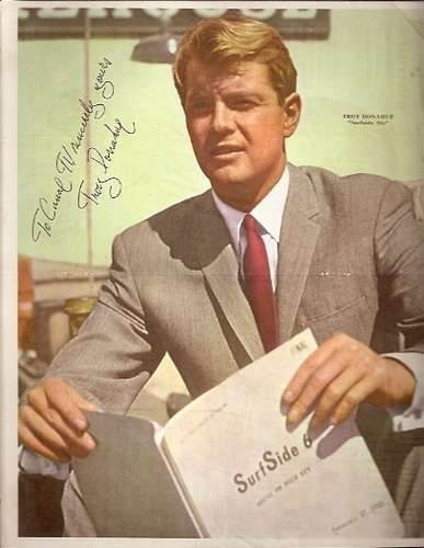 lote 5 posters surfside 6 - troy donahue (002) serie de tv
