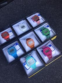 331ea85a426b Lote 5 Relojes Retro Digital Colores Pastel Premium + Cajas