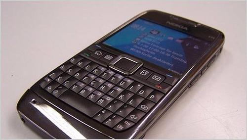 lote 5 unid. celular nokia e71 sem acessorios/baterias