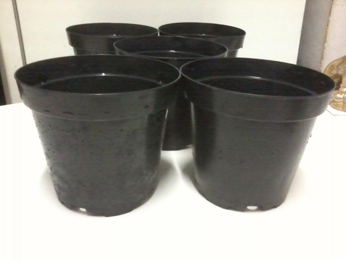 Lote 5 vasos pl sticos planta r 22 00 em mercado livre for Plantas decorativas de plastico
