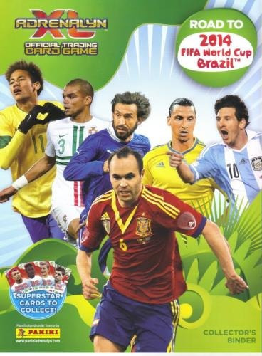 lote 50 base cards adrenalyn road to world cup 2014