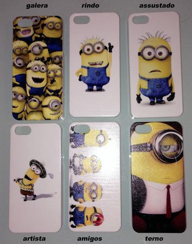 lote 50 capas cases novo  iphone 5 5s vários modelos