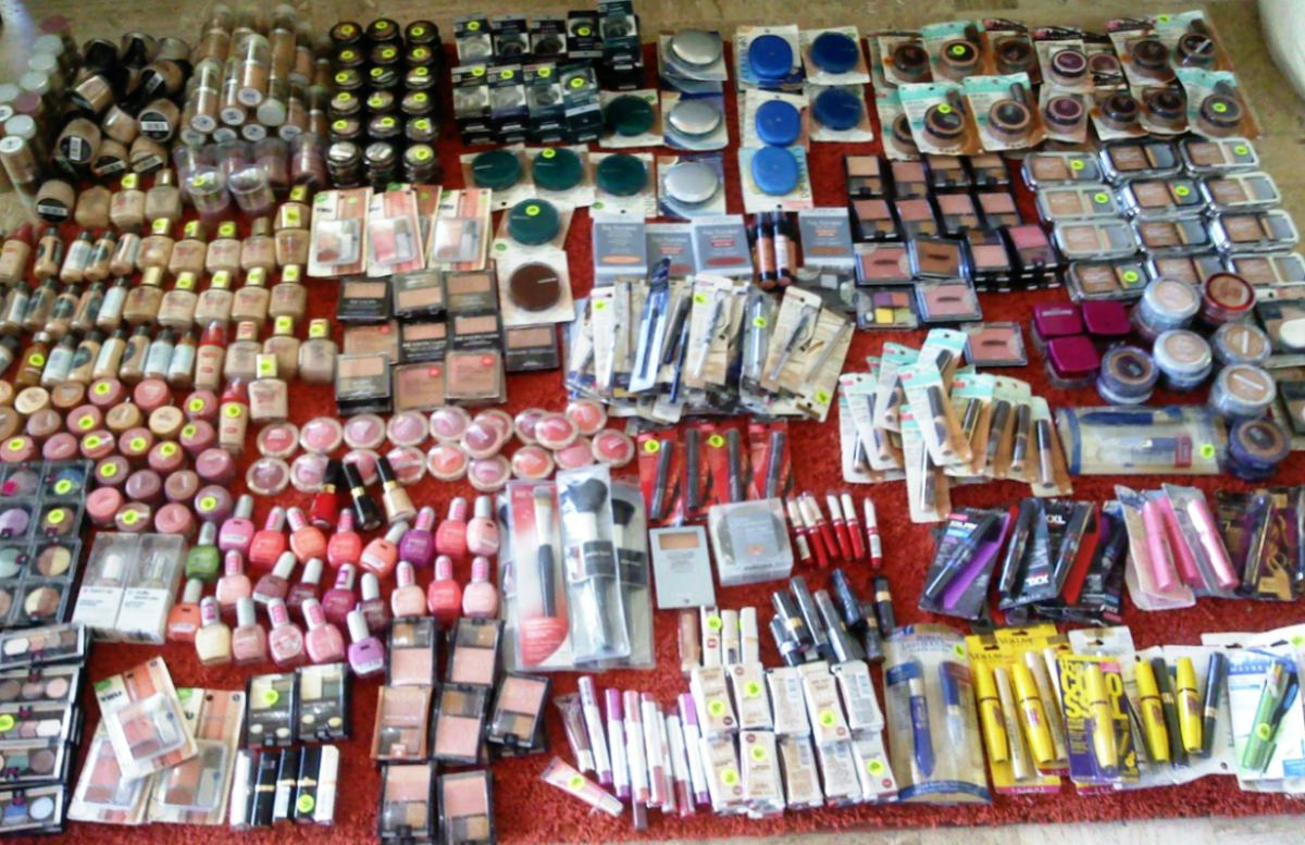 lote maquillaje