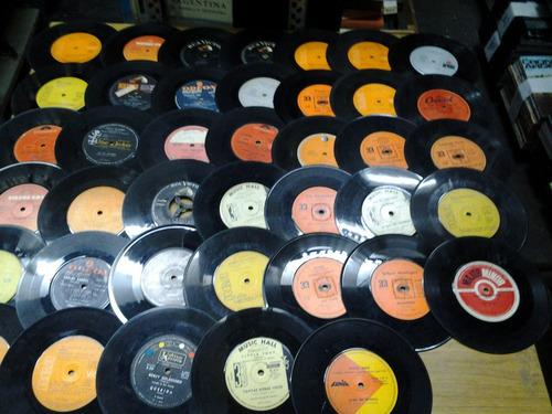 lote 50 discos vinilo lp 30 cm p/decoracion en congreso